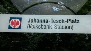Spaßvöschel, die Eintracht Fans